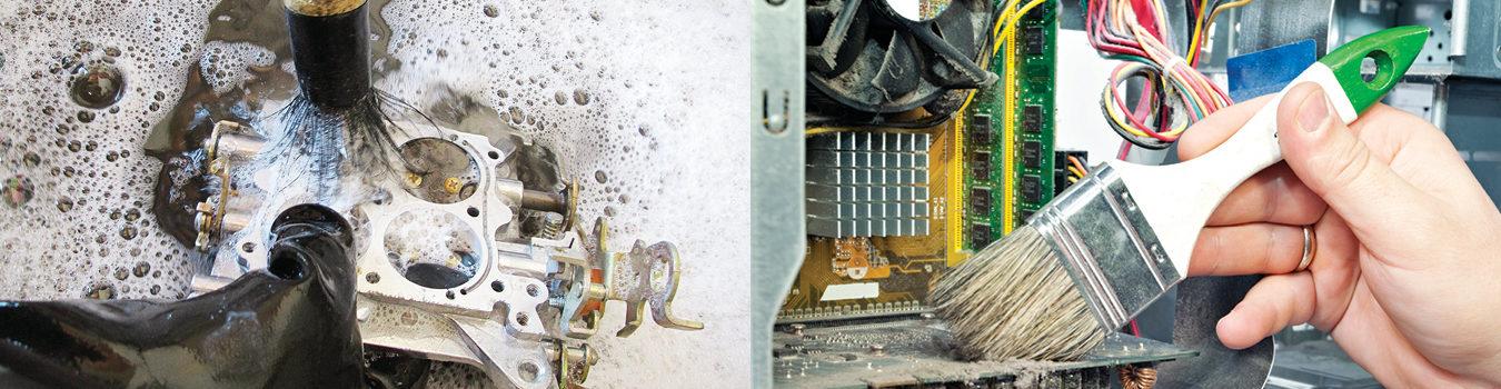 Le nettoyage facile des carburateurs, des PCB.