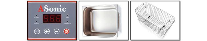 ASonic PRO 20 ultrasonic cleaners details